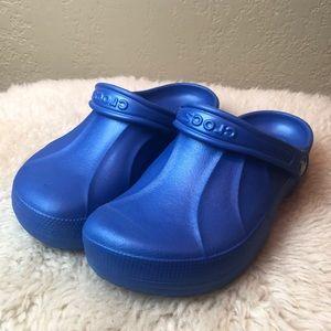 Crocs Electric Blue Clog